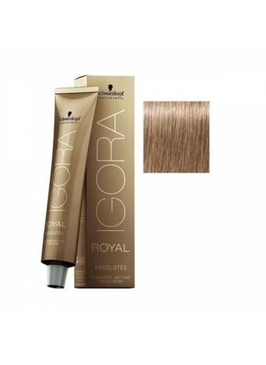 Schwarzkopf Igora Royal Absolutes Saç Boyası 8-01 Açık Kumral-Doğal Sandre Renksiz